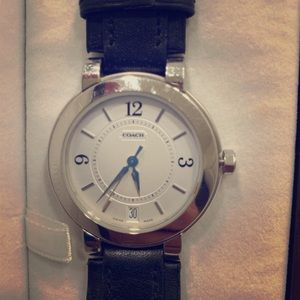 ⌚️Coach men's watch - black ⌚️